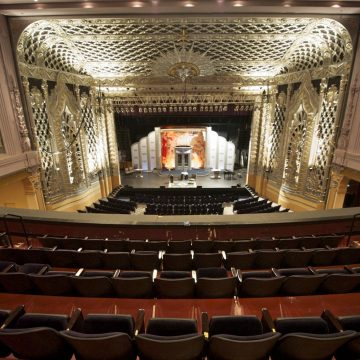 Saban Theatre interior balcony