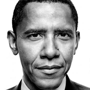 Platon's portrait of President Obama