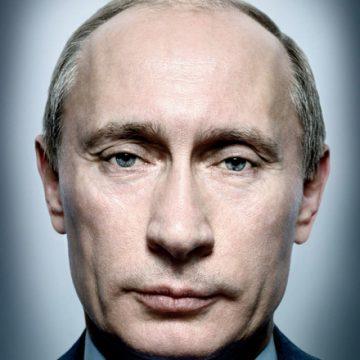 Platon's portrait of Vladimir Putin