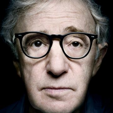 Platon's portrait of Woody Allen